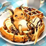 Pokemon - Raichu x Waffles