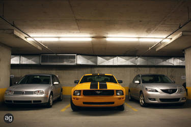 Underground Parking by AlexandreGuilbeault
