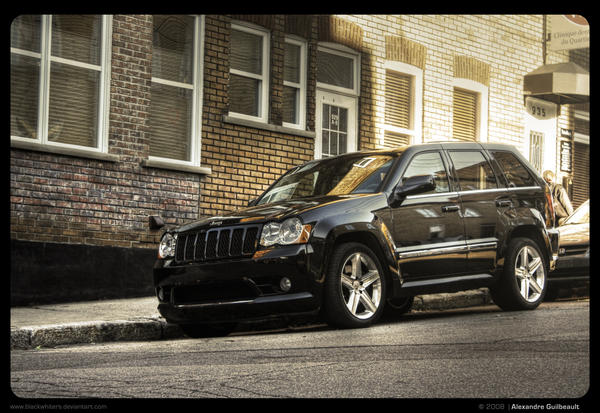 Black Jeep Grand Cherokee SRT8 4x4 for sale in New York