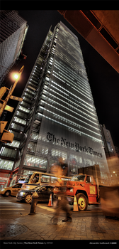 The New York Times by AlexandreGuilbeault