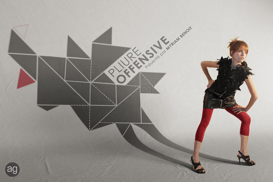Pliure Offensive - Fashion by AlexandreGuilbeault
