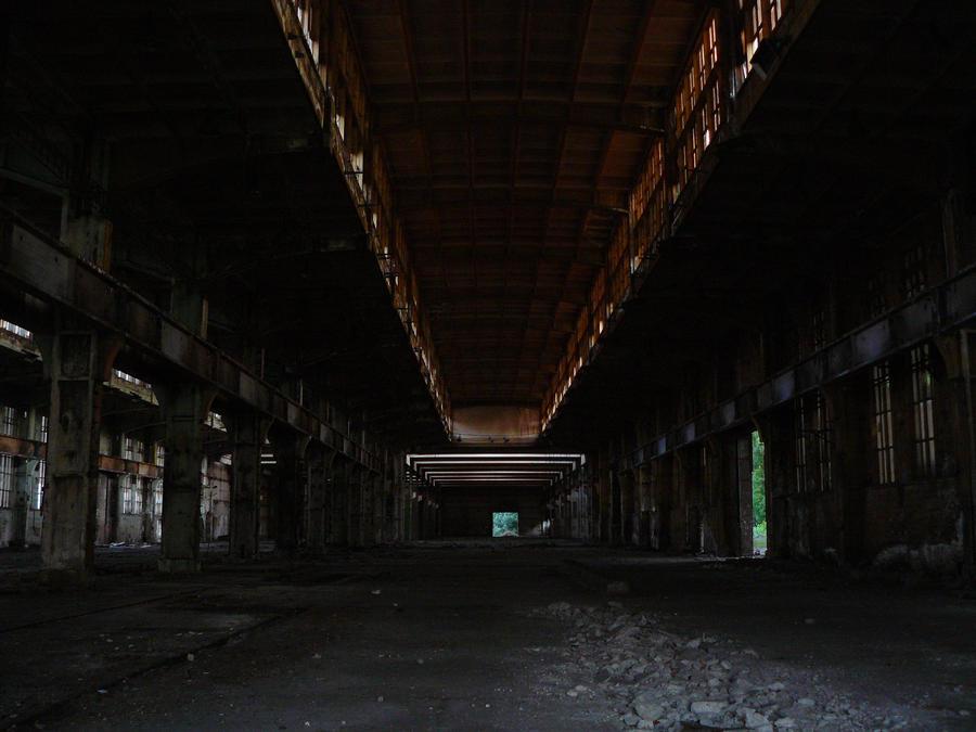 Ship factory main hall by renegadeofpeace