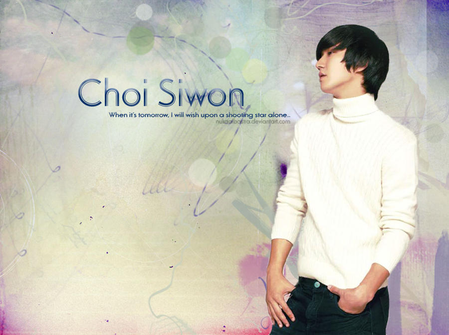 Choi Siwon Wallpaper by nukaalbastra