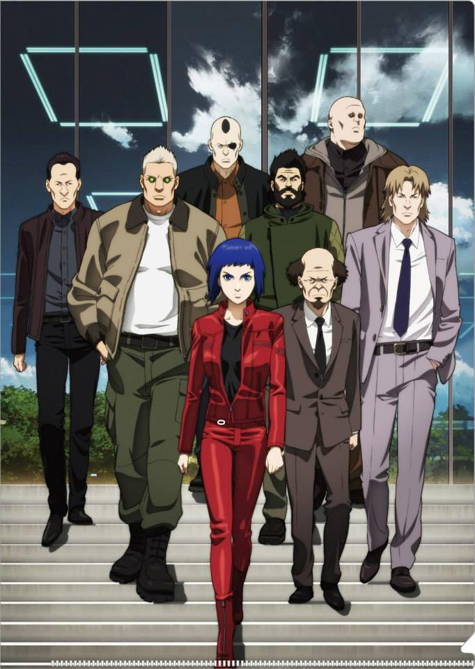 Ghost In The Shell Arise Cast By Dreamer Out There On Deviantart