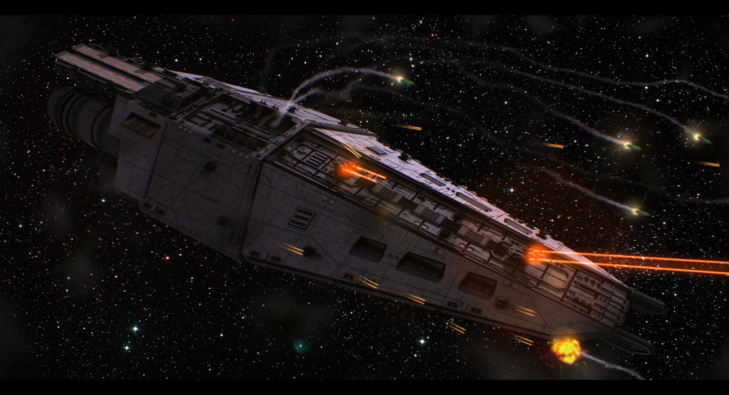 Terran Alliance Warship: Raptor's Wrath 2 by Dreamer-Out ...