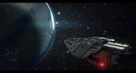 Terran Alliance Warship: Raptor's Wrath 4