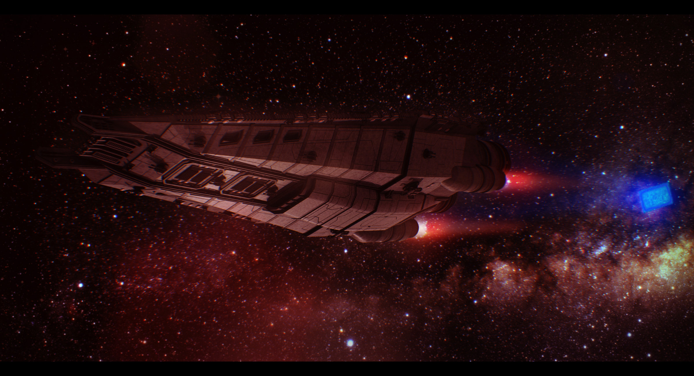 Terran Alliance Warship: Raptor's Wrath 5 by Dreamer-Out-There