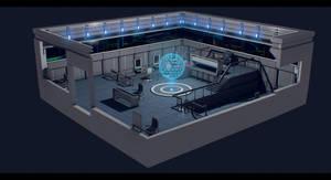 Terran Alliance Warship: Raptor's Wrath - Bridge