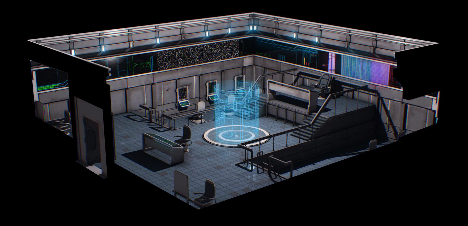 Terran Alliance Warship: Raptor's Wrath - Bridge 1