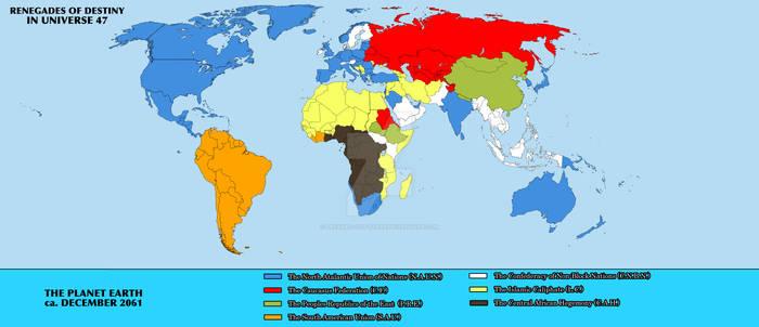 ROD World Map