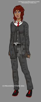 Melissa Westbrook (character concept art)