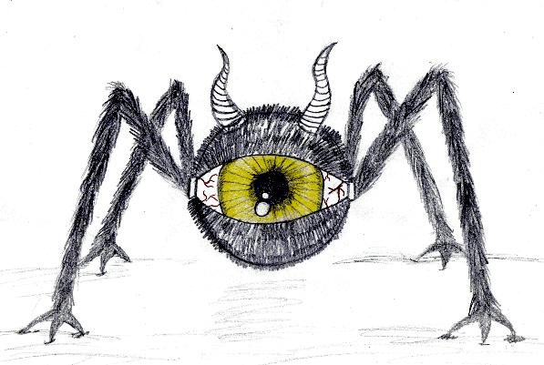 Monstre by lolobild on deviantart - Dessin monstre facile ...