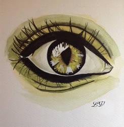 eyes by lolobild