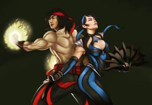 Liu Kang and Kitana (Liutana) Mortal Kombat 11 (3)