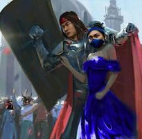 Liu Kang and Kitana (Liutana) Mortal Kombat 11 (5)