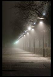 Alley of light by fbjon