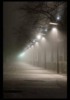 Alley of light