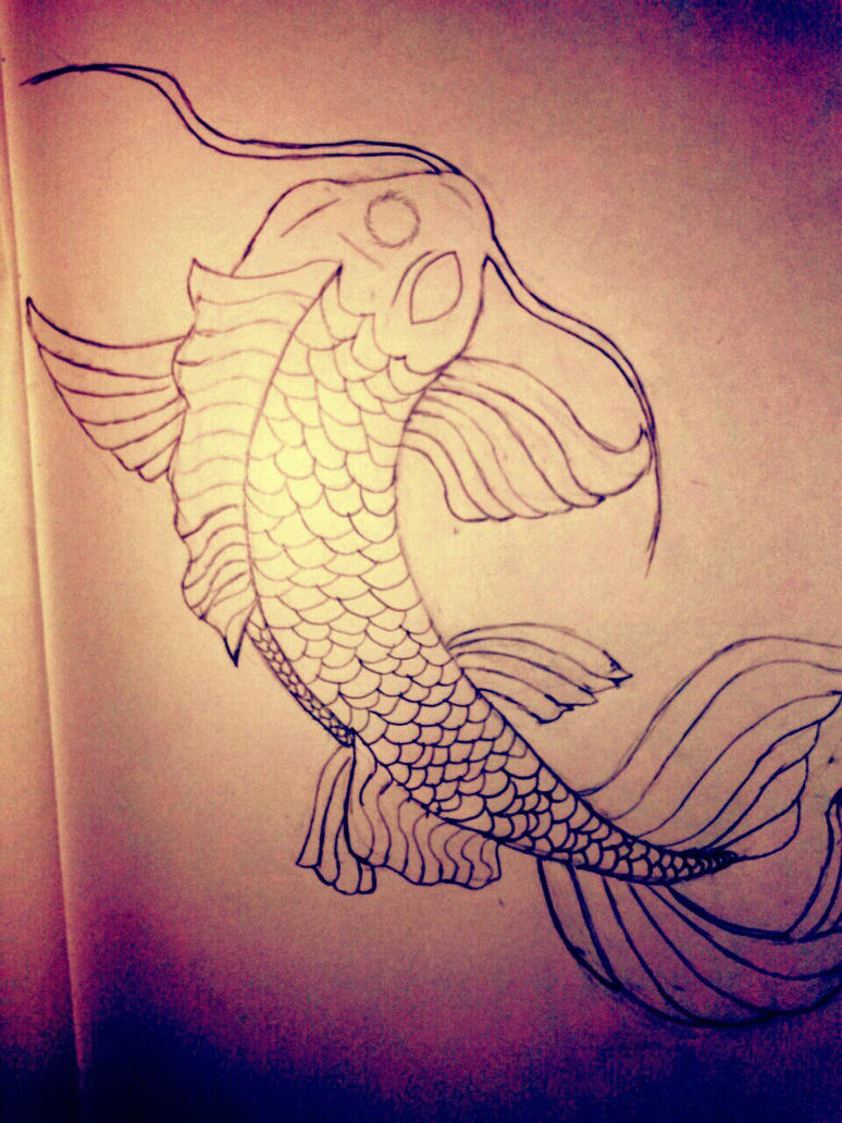 This is a butterfly koi fish by northfire88 on deviantart for Butterfly koi tattoo