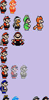 NESified - Mario Powerups