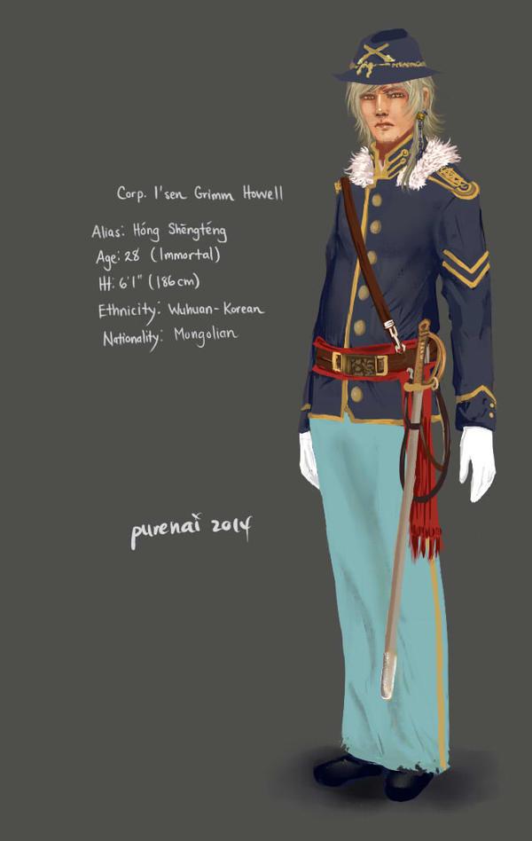 HS: dragoon. by purenai