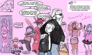 Shrub Monkeys 57 by ktshy