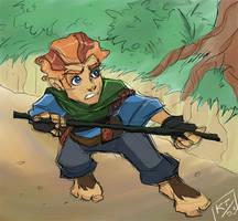 Bravest lil' Hobbit of em all by ktshy