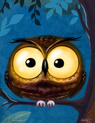 Daily Doodle Owl by ktshy