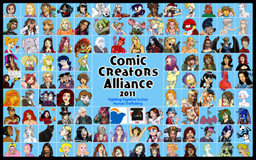 Comic Creators Alliance 2011 by ktshy