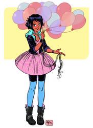 balloon girl by ktshy