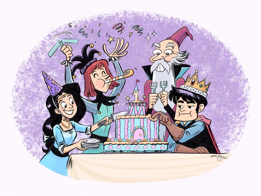 Silly Kingdom 1 year Anniversary by ktshy