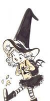 inktober 6: lil witch