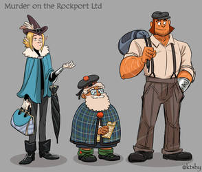 Murder On The Rockport Limited by ktshy