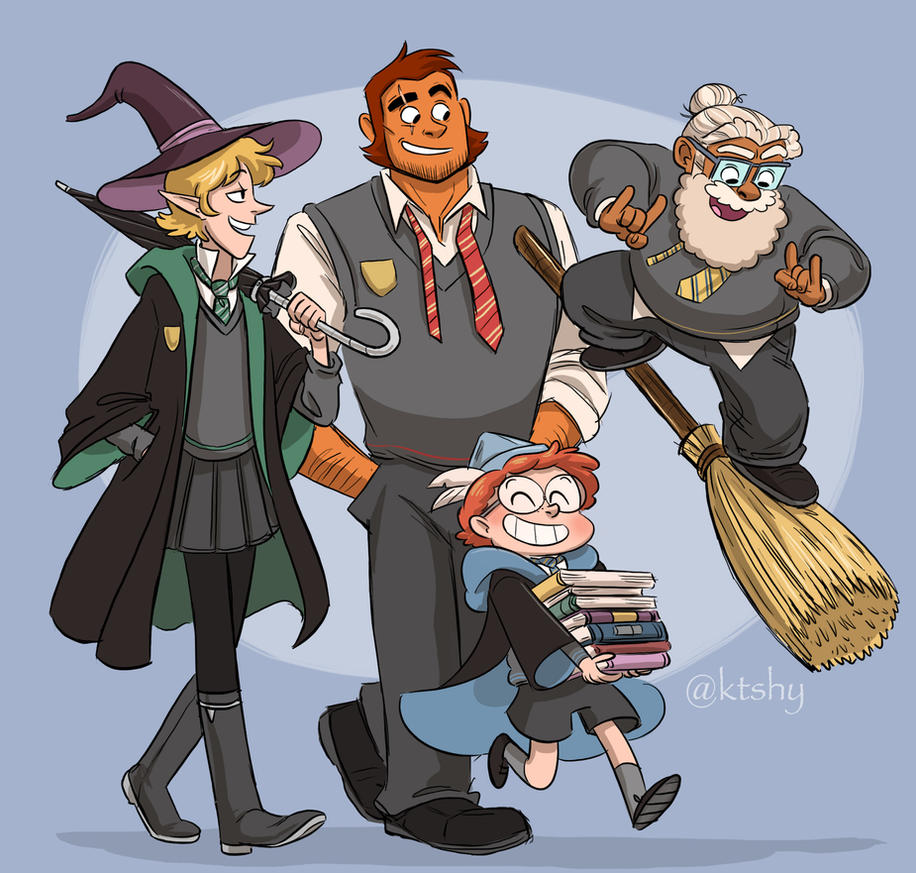 Tres Hogwarts Boys (feat. Ango) by ktshy