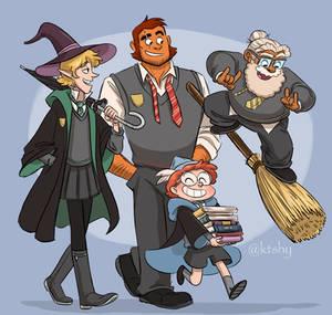 Tres Hogwarts Boys (feat. Ango)