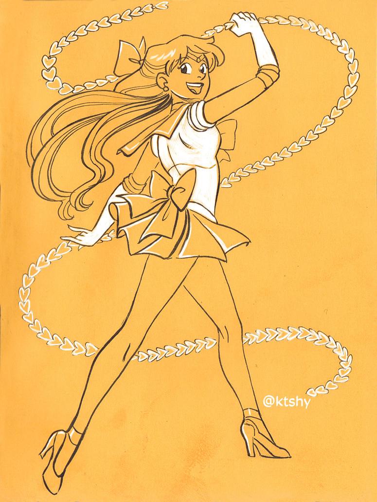 Sailor Venus by ktshy