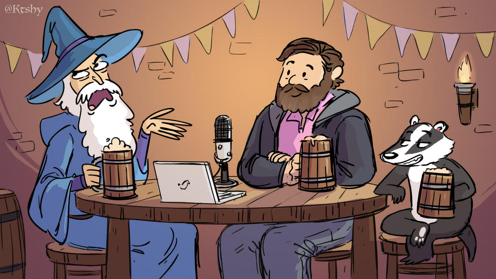 Hello From the Magic Tavern by ktshy