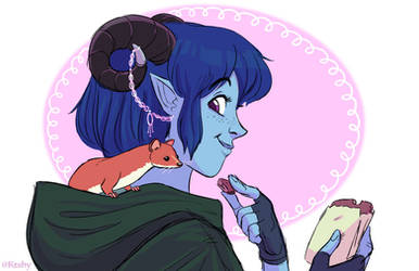 Jester and Sprinkle by ktshy