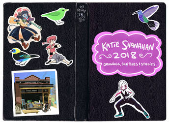 2018 Sketchbook by ktshy