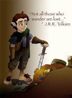 Bravest lil hobbit of them all by ktshy