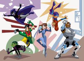 Teen Titans Go by ktshy