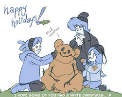 Shrub Monkeys 36 Happy Holiday by ktshy