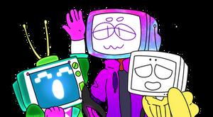 Tv Head Boys by CozyNosy