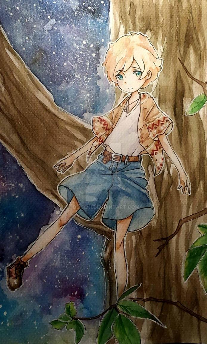 Space boy by Deiseki