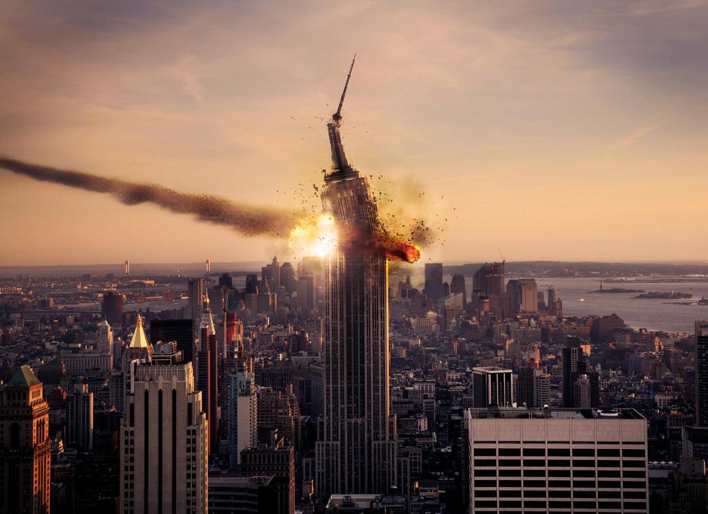 Meteor strike on Empir...