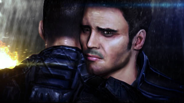 I can't lose you again, Shepard by jwdutoit