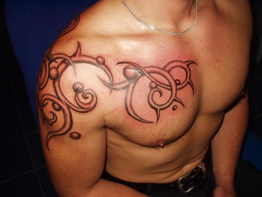 tattoo tribal ornament 3d 40 by tattoopatric on deviantart. Black Bedroom Furniture Sets. Home Design Ideas
