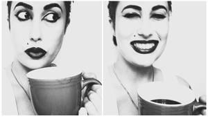 Coffee: b+w