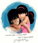 Christine-Marie y Richey James