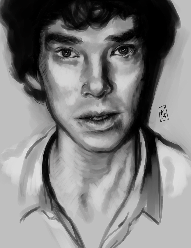 Sherlock bw