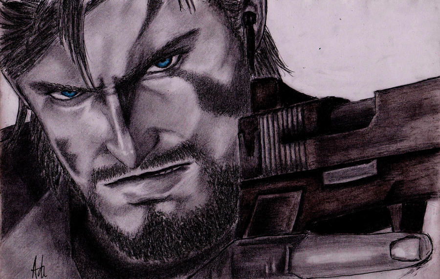 Metal gear solid : Snake by RebellionAngel